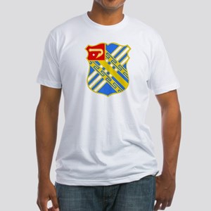 DUI - 2nd Bn - 18th FA Regt Fitted T-Shirt