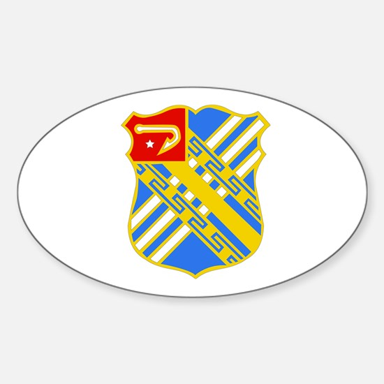 DUI - 2nd Bn - 18th FA Regt Sticker (Oval)