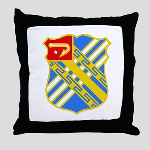 DUI - 2nd Bn - 18th FA Regt Throw Pillow