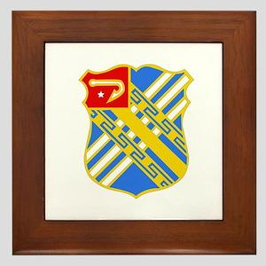 DUI - 2nd Bn - 18th FA Regt Framed Tile
