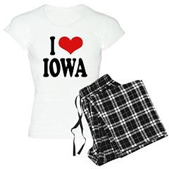 I Love Iowa Pajamas