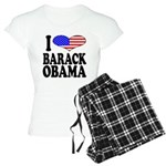 I Love Barack Obama Women's Light Pajamas