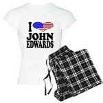 I Love John Edwards Women's Light Pajamas