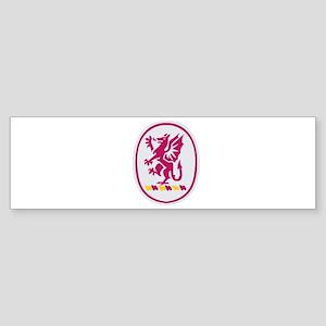 DUI - 3rd Bn - 13th FA Regt Sticker (Bumper)