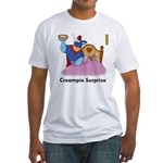 """""""Creampie Surprise"""" Fitted T-Shirt"""