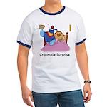 """Creampie Surprise"" Ringer T-Shirt"