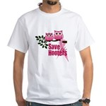 Save the Hooters White T-Shirt