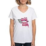 Hooters 2 Women's V-Neck T-Shirt