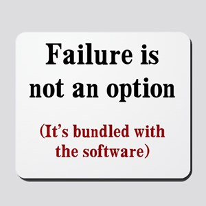 Software Failure Mousepad