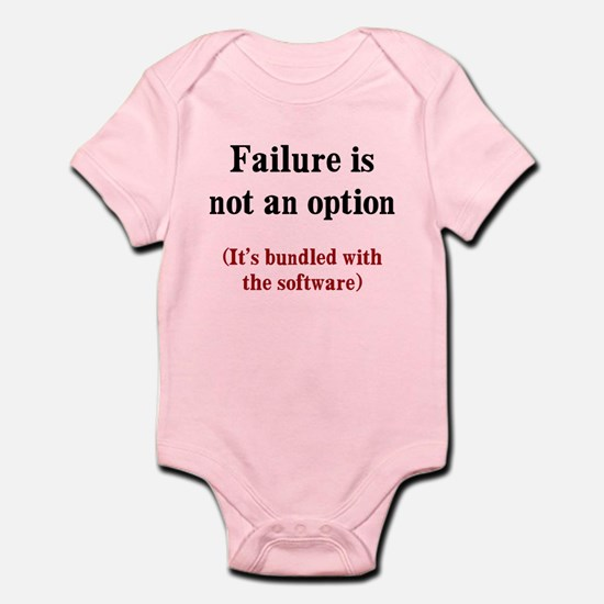 Software Failure Infant Bodysuit