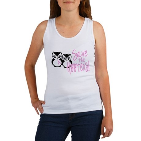 Save the Hooters Women's Tank Top