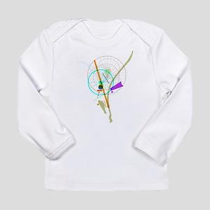 Bike Flower Long Sleeve Infant T-Shirt