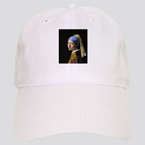 Girl with a Pearl Earring Cap