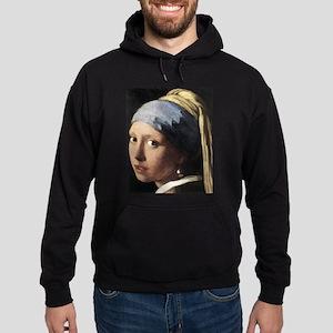 Girl with a Pearl Earring (de Hoodie (dark)