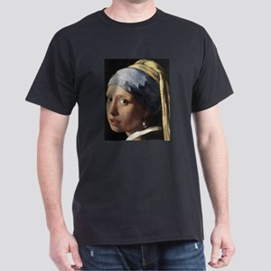 Girl with a Pearl Earring (de Dark T-Shirt