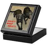 Dogs in Trouble Keepsake Box