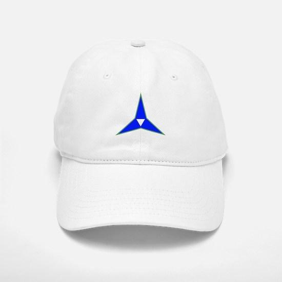 SSI-III CORPS ARTILLERY TEXT Baseball Baseball Cap