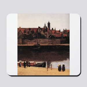 View of Delft (detail) Mousepad