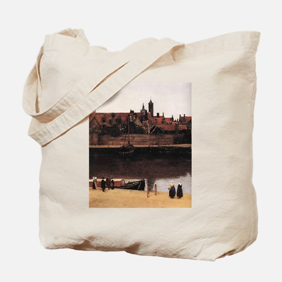 View of Delft (detail) Tote Bag