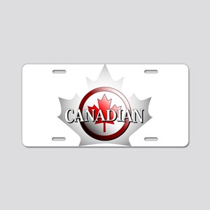 I be Canadian Aluminum License Plate