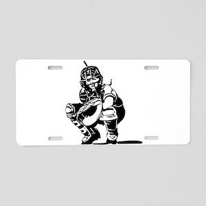 CATCHER *1* Aluminum License Plate