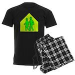 Alien School Xing Men's Dark Pajamas