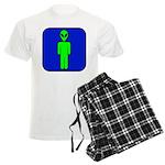 Alien Man Men's Light Pajamas