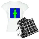 Alien Woman Women's Light Pajamas
