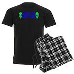 Aliens For Dennis Kucinich Men's Dark Pajamas
