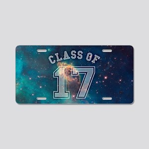Class of 17 Space Aluminum License Plate