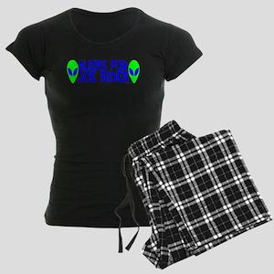 Aliens For Joe Biden Women's Dark Pajamas