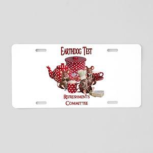 Earthdog Aluminum License Plate