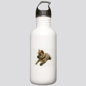 Cairn Terrier Puppy Stainless Water Bottle 1.0L