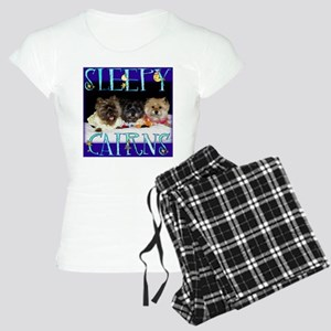 Sleepy Cairn Terriers Women's Light Pajamas