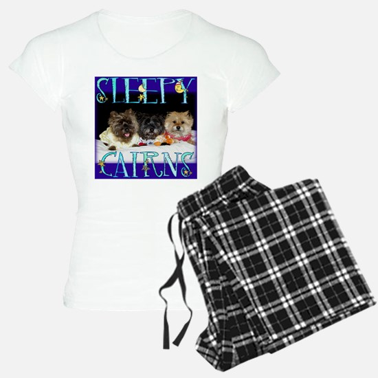 Sleepy Cairn Terriers Pajamas