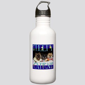 Sleepy Cairn Terriers Stainless Water Bottle 1.0L