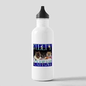 Sleepy Cairn Terriers Stainless Water Bottle 1.0L
