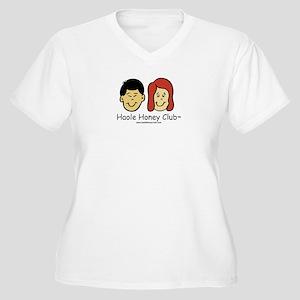 Haole Honey Club - Red Head Women's Plus Size V-Ne