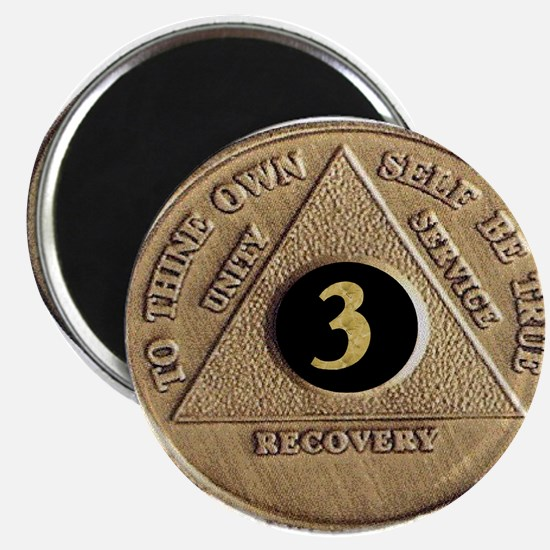 3 YEAR COIN Magnet