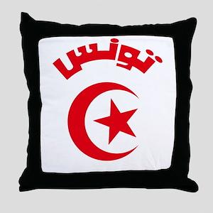 Tunisia Modern Throw Pillow
