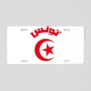 Tunisia Modern Aluminum License Plate