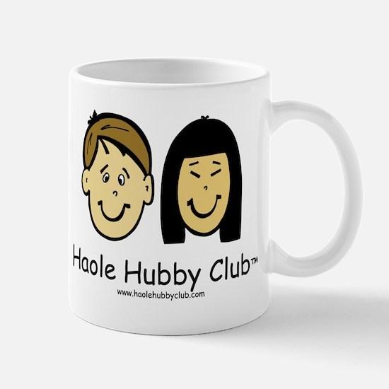 Haole Hubby Club - Brunette Mug