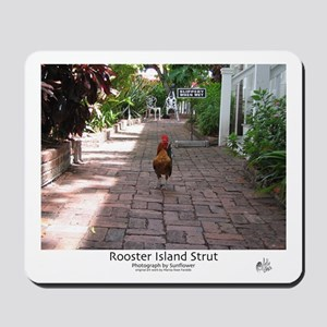 Rooster Island Strut Mousepad