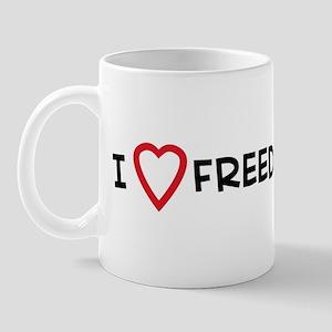 I Love Freedom Fries Mug
