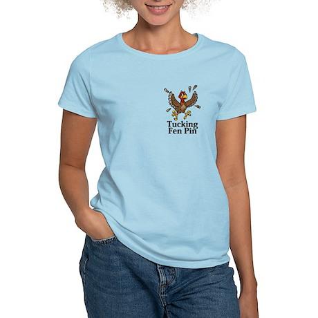 Tucking Fen Pin Logo 14 Women's Light T-Shirt Desi