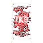 Taekwondo Dragon Banner