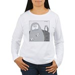 Barn Owls (No Text) Women's Long Sleeve T-Shirt
