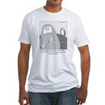 Barn Owls Fitted T-Shirt