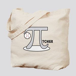 Funny Baseball Pi-tcher Tote Bag