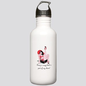 Crazy Bitch Stainless Water Bottle 1.0L